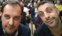 Muhamed Serdarević and Emir Salkić